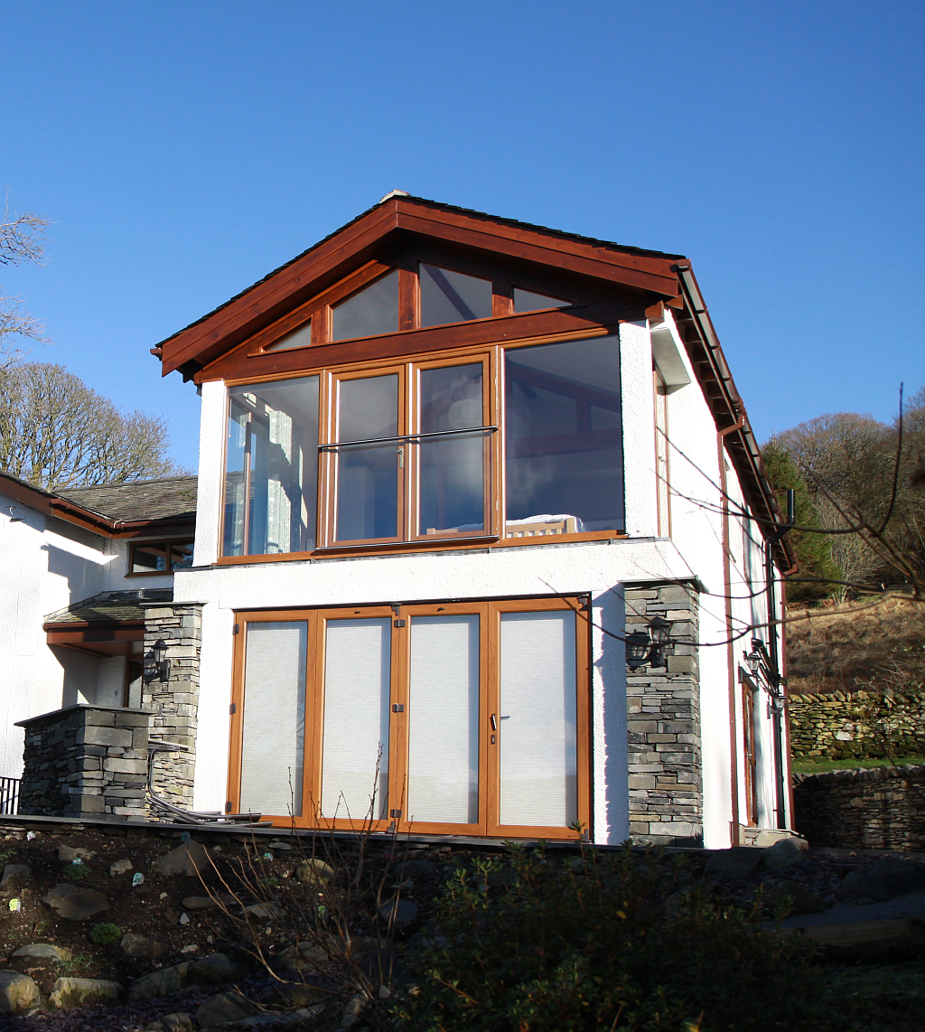 Extension to detached house